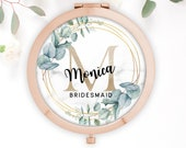 Bridesmaid Gift Wedding, Bridesmaid Compact Mirror, Maid of Honour Gift, Mother of the Groom Gift, Mother of the Bride Gift, Bride to Be