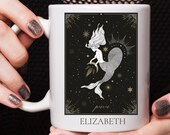 Custom mug personalised, Piscesries Mug, Zodiac Mug, Pisces Star Sign, Astrology Mug, Gifts For Her, Birthday Gifts, Coffee Mug, Tea Mug