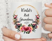 Personalised Nanny Mug, Best Nana Ever mug, Best Grandma Mug, Nanny coffee cup, Grandmother gift, Christmas Gifts for Nana, Nana Gift Idea