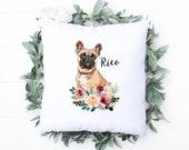 French Bulldog Personalised Cushion, Christmas Gift for Dog Mum Dad, Dog Lover, Custom Dog Pillow Frenchie Dog, Gift for French Bulldog, Pug