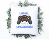 Pillow for Gamer, 13th Birthday, Personalised Gift, 13th Birthday Gift for Daughter Son, Game Lover Gift, Video Gamer Birthday Gift