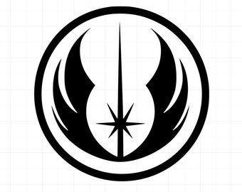 FREE SHIPPING Star Wars Jedi Order Symbol Vinyl Die Cut Car USA Decal Sticker