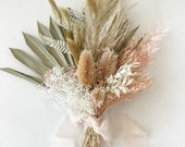 Small Pampas Grass + Blush Bouquet