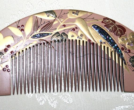 Japanese Kanzashi Hair Comb