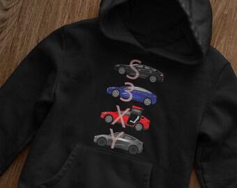 SpaceX Mirrored Logo Sweatshirt Elon Musk Mars Scientist Gift Pullover Jumper