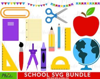 school supplies svg