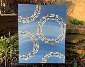 Dot Circles by Blue