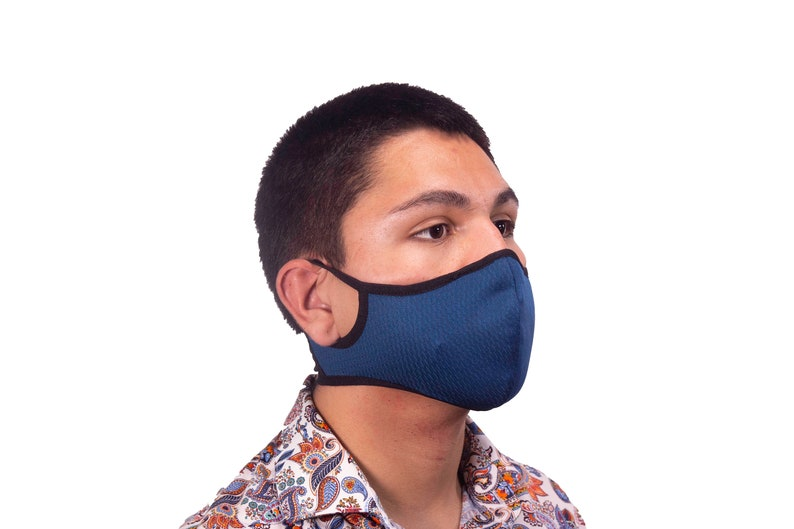 Tapabocas Face Mask Para Hacer Deporte Lavable con un filtro image 0