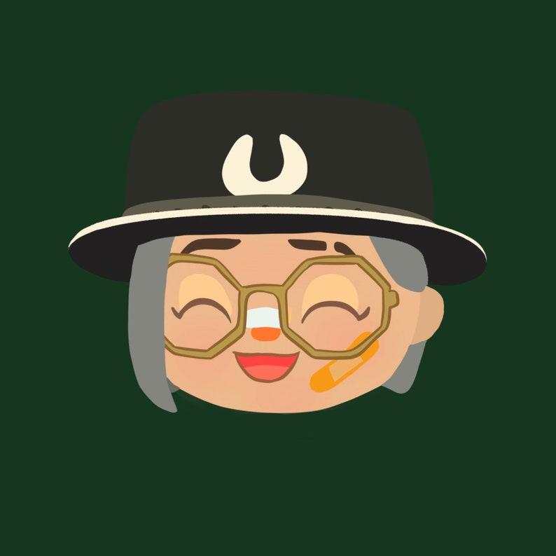 Animal Crossing New Horizons Custom Character Drawing | Etsy