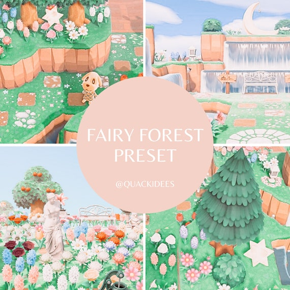 Fairy Forest Preset Animal Crossing Acnh Preset For Etsy