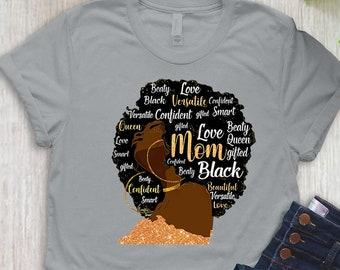 Ladies black TShirt Birthday Workwear Mother/'s day