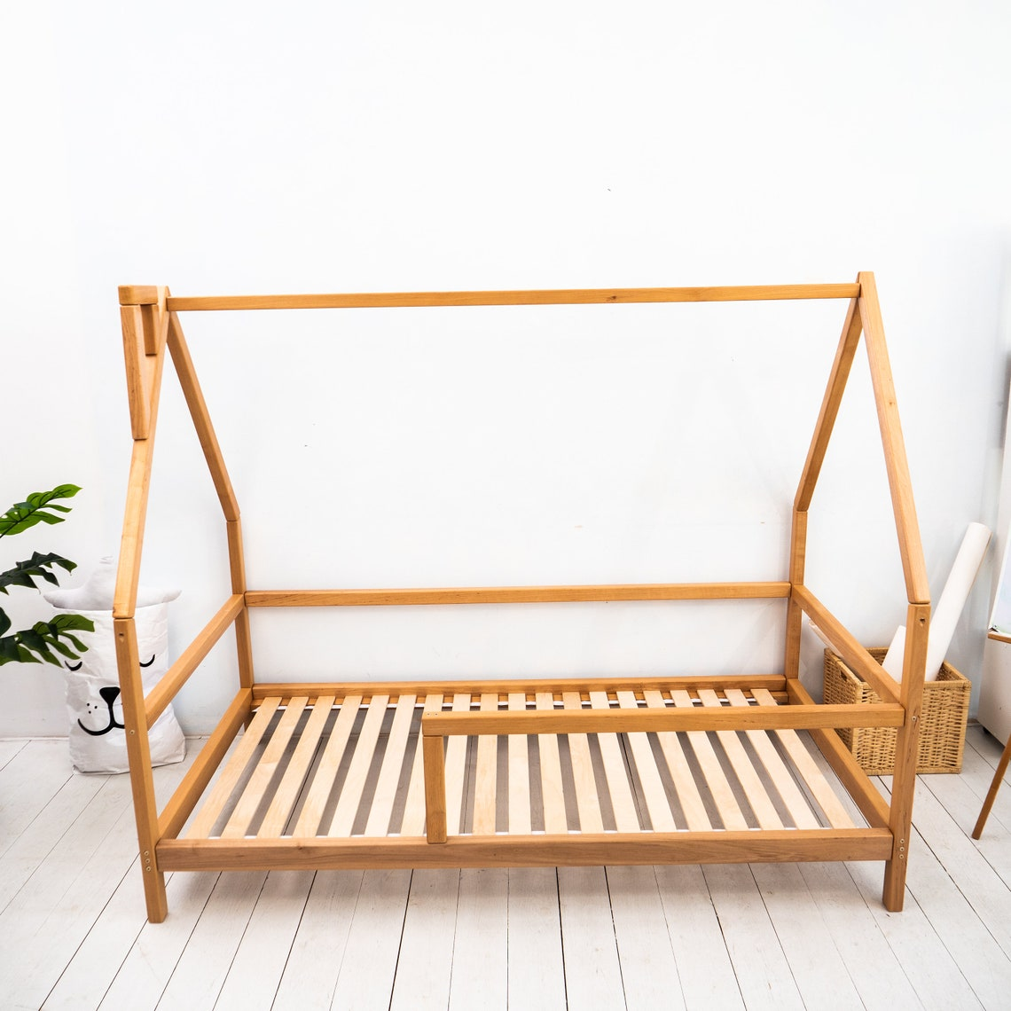 Montessori Toddler Bedroom Furniture Montessori bed House bed full Shed bed Twin bed frame Farmhouse House frame Playhouse Unique bed kids