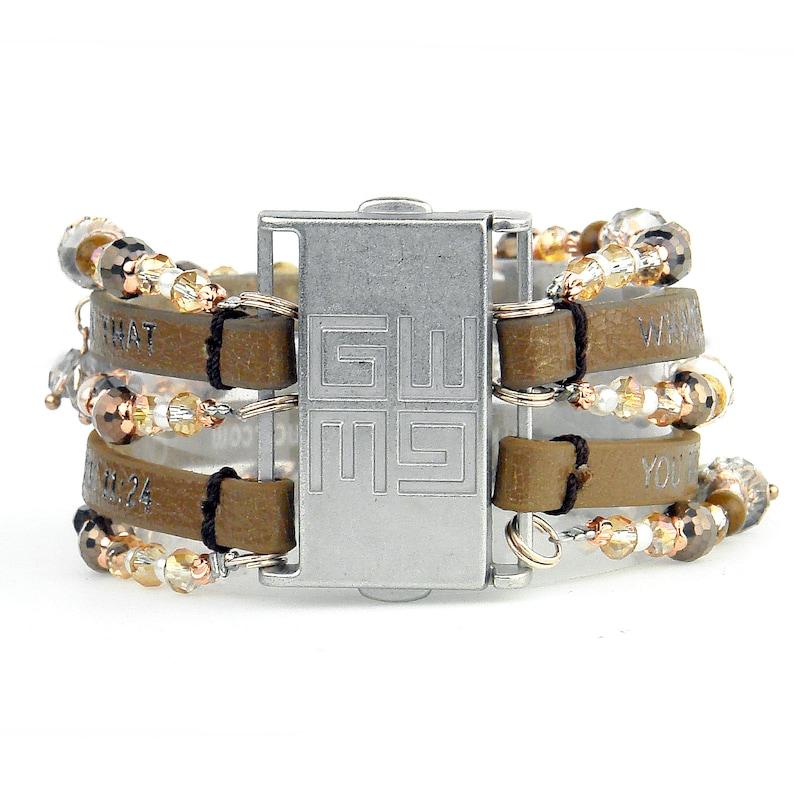 Good Works Inspirational Beautiful Cuff Bracelet