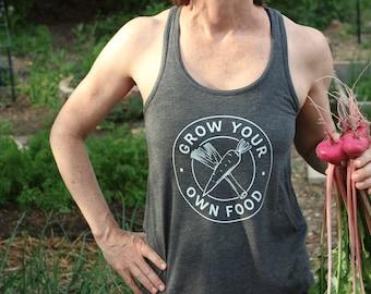 Women's Grow Your Own Food Gardening Tank