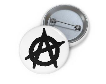 Anarchy button black