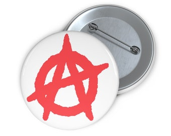 Anarchy button red