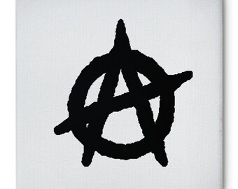 AnaRChY CANVAS PRINT