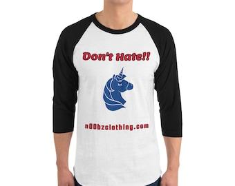 Don't Hate!! Skater Shirt
