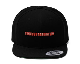 N00BZCLOTHING.COM Flat Bill Hat