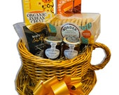 Luv n Cup Hamper for Thank You, Best wishes, Birthday, Anniversary, Get well soon, NHS, Chocolate, Father, Kids, Lockdown, Wicker basket