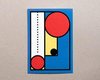 Postcard / Illustration - Geometry #03