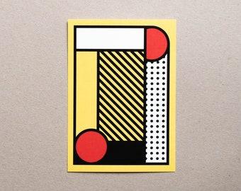 Postcard / Illustration - Geometry #07