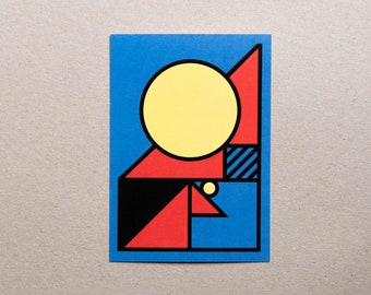 Postcard / Illustration - Geometry #06