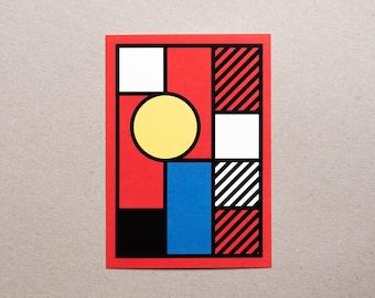 Postcard / Illustration - Geometry #05