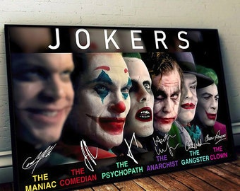 Arthur Fleck Joker Movie Poster Robert De Niro v4 24x36 - Joaquin Phoenix