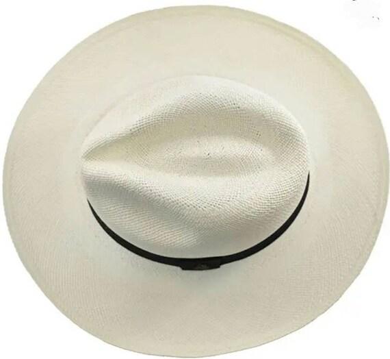 Panama Original Hat - Classic Wide-Brimmed Fedora… - image 3