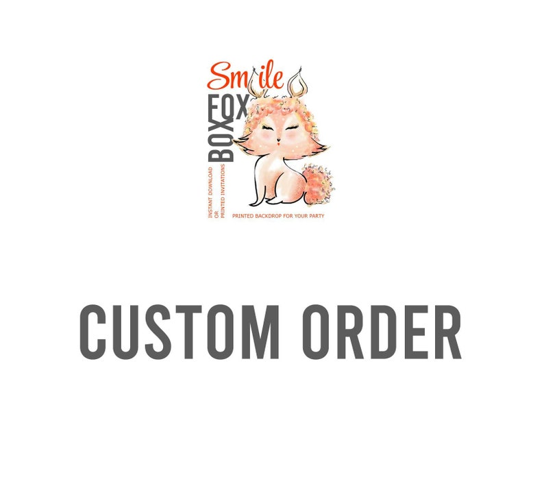Custom Order for Sophia