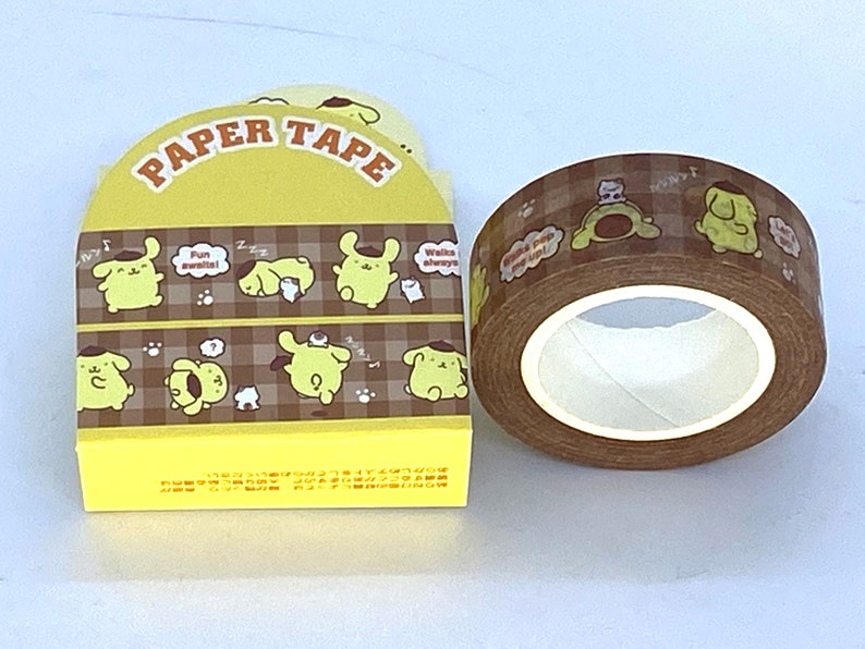 New For Collection For 2020 Sanrio Original PomPomPurin Paper Tape AUTHENTIC