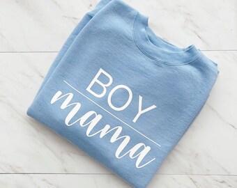 Boy Mama Crewneck Sweatshirt