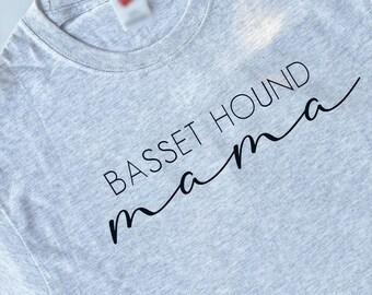 Tri-State Basset Hound Rescue, Inc. (TSBHR) Proceed Shirt: Basset Hound Mama