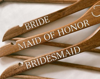 Personalized Hangers - Bridal, Wedding Day