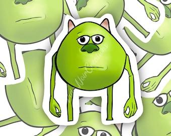 Monsters Inc Sticker Etsy