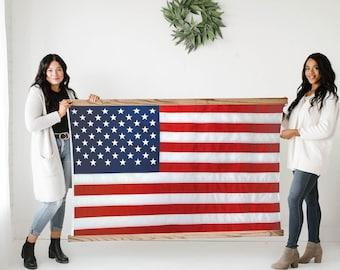 Flag Frame - Large Wooden Frames (American Flag not included)
