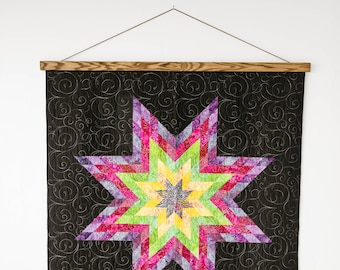 Wood Quilt Hanger for Wall - Best Way to Display Your Beautiful Quilt!