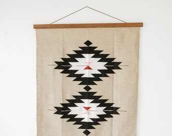 Rug Hanger Frame - Hang any textile on the wall! Custom size and many colors