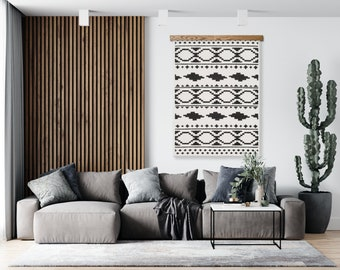 Wooden Rug Hanger - How to Hang A Rug on the Wall