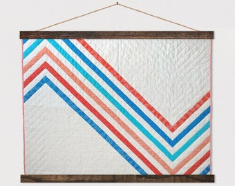 Quilt Hanger Frames - Wood Hanging Frame for Quilts, Tapestry art, Paintings, Puzzles, Etc.