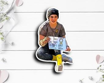Megan Sticker, @meganthecancerkid on Tiny Warrior, Hodgkins Lymphoma Champion