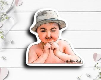 Reef Sticker, @lydscar79 on TikTok, Tiny Warrior, #Tessa'sArmy, Go Fund Me Donation