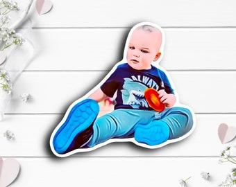 Dallas Sticker, Tiny Warrior