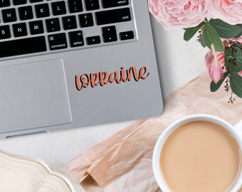 Custom Name Vinyl Decal, Decal for car windows, bumper stickers, phone cases, laptops, tumblers, and more!