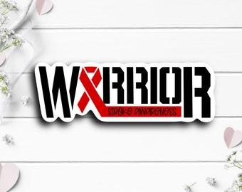 Stroke Awareness Sticker, Stroke Warrior Sticker, Vinyl Die Cut Sticker, Weatherproof Sticker, Perfect for laptops, tumblers, etc.