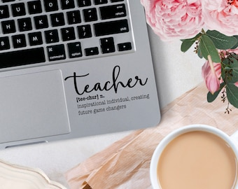 Vinyl Decal, Teacher Definition Decal, Teacher Appreciation Decal, Vinyl Decals for indoor or outdoor application, Different Sizing Options