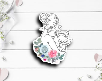 Miscarriage Sticker, Miscarriage Awareness Sticker, Vinyl Die Cut Sticker, Weatherproof Sticker, Perfect for laptops, tumblers, and planners