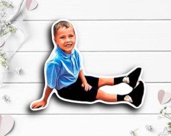 Elliott Sticker, Tiny Warrior