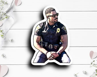 Officer Scales Sticker, @officerscales on TikTok, Waterproof Die Cut Stickers perfect for laptops, planners, tumblers, or water bottles
